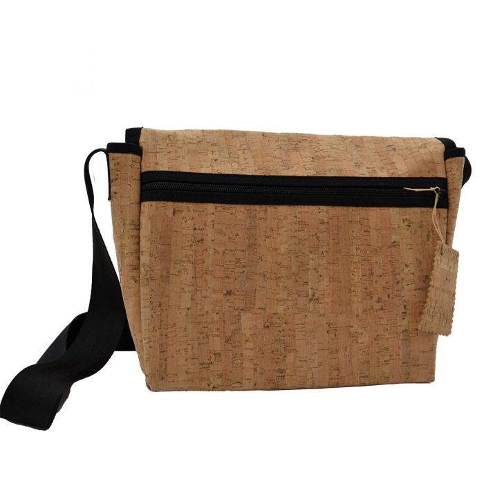 Handtasche natur Rückseite