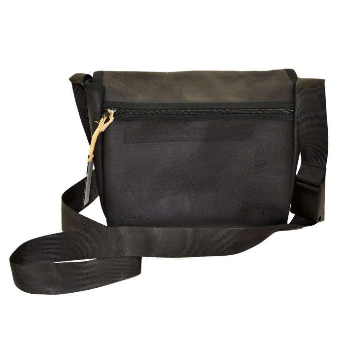 Handtasche schwarz Rückseite