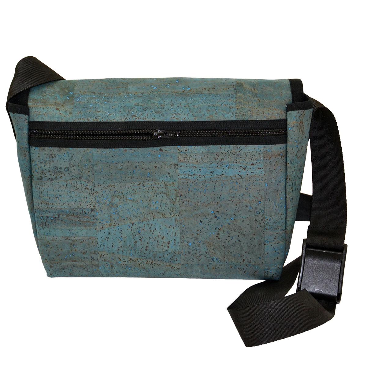 Handtasche türkis Rückseite