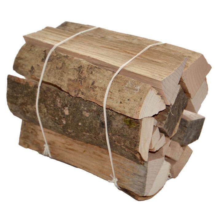 Brennholz, gebündelt